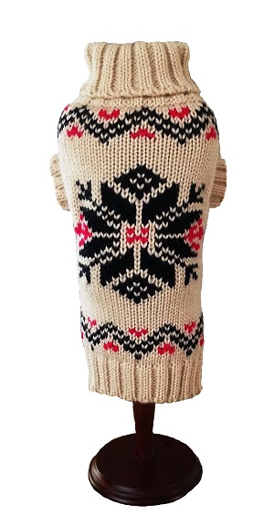 Nordic Snowflake Sweater - NEW