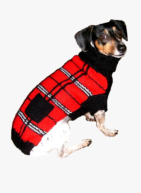 Scottish Plaid Sweater