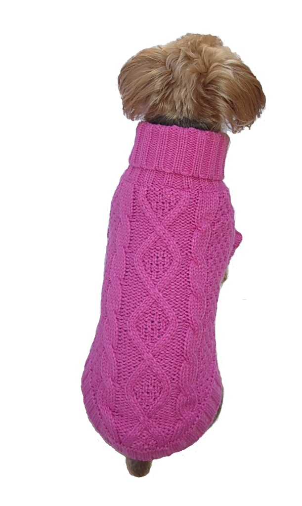 Irish Knit Bubblegum Pink (darker)