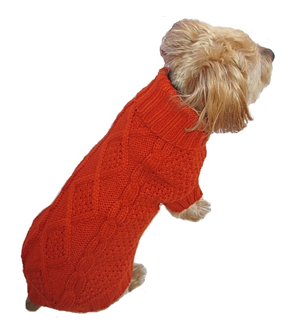 Irish Knit Orange