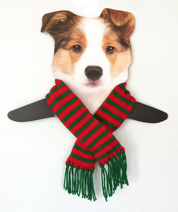 Red & Green Holiday Scarf