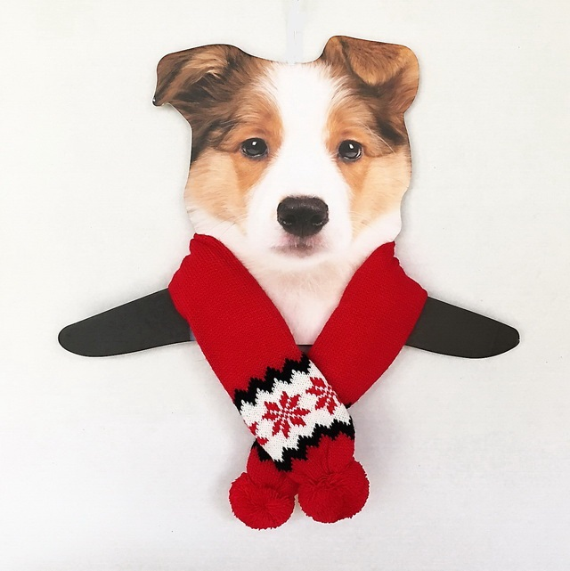 Red Snowflake Scarf