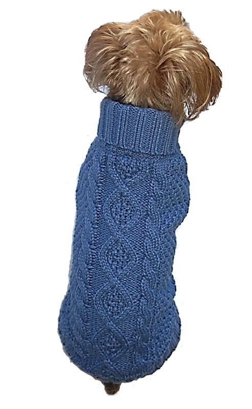 Irish Knit Blue
