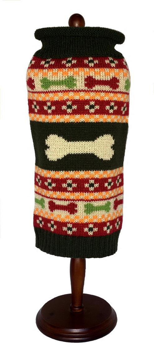 Fair Isle Bones Sweater