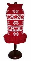 Hearts & Snowflake Sweater Dress