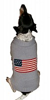 Patriotic Pup - Grey
