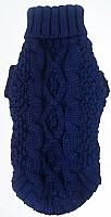 Irish Fisherman Knit Blueberry (navy)