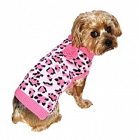 Pink Leopard Sweater