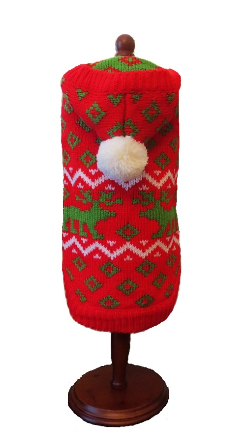 Red Reindeer Hoodie