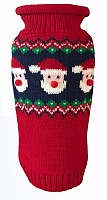 Fair Isle Santa Faces